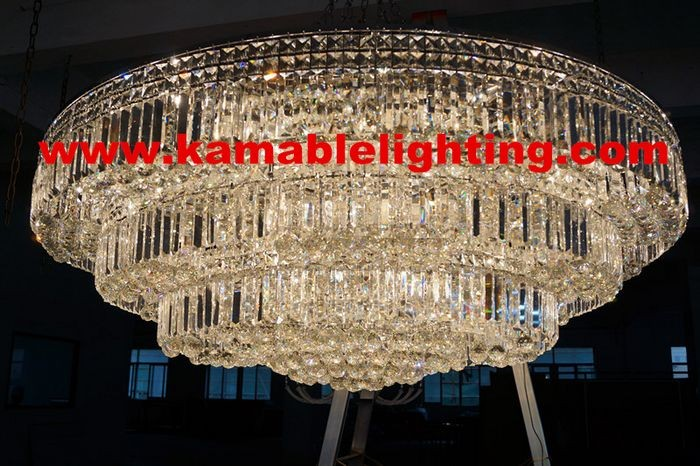 Elegance decorative crystal project pendant light