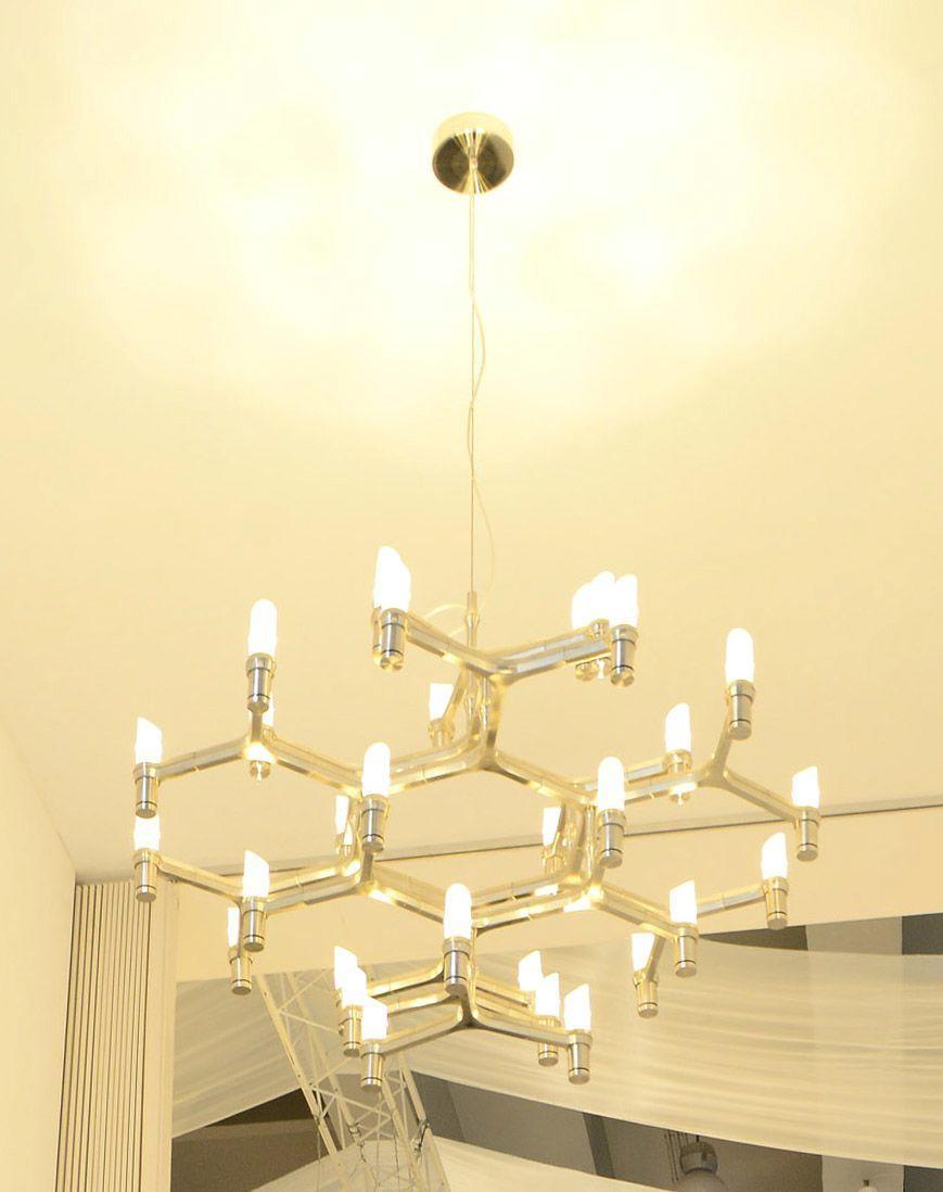 Candle Decorative Modern Pendant Lamp