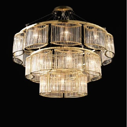 Modern Hotel Decorative Glass Ceiling lighting