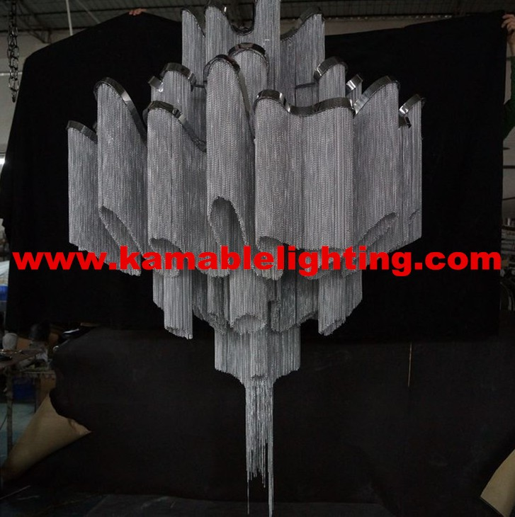 Hot Sale Modern Suspension Chain Big Chandelier