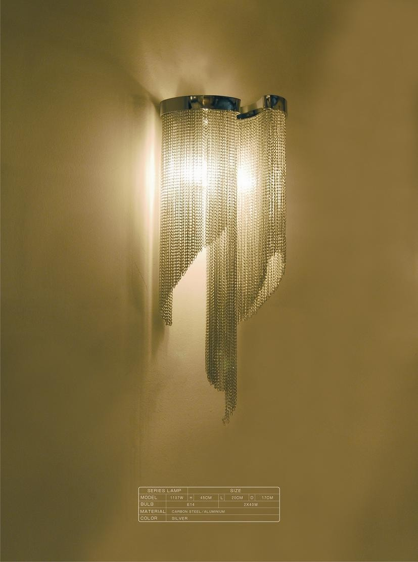 Modern wall lamp hotel living room lights