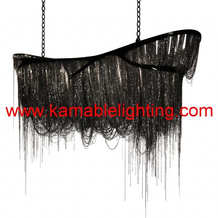 modern decorative hanging chandelier