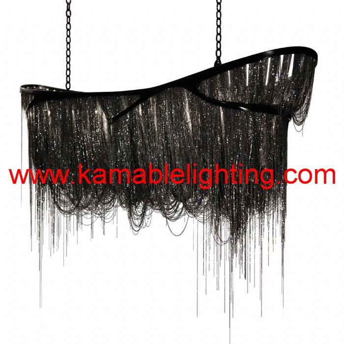 modern decorative hanging chandelier