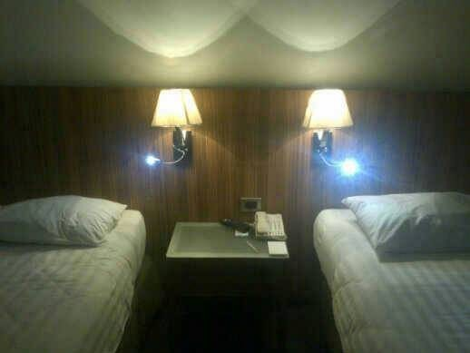 Modern design LED project hotel bedroom wall lamp